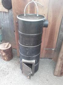 Chauffe-eau à bois V2