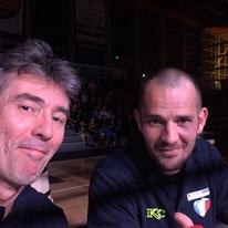 Jean-Marc et Stephan nos arbitres au KOC