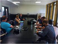 La commission nationale Hapkido FFST au travail