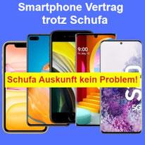 Smartphone Vertrag trotz Schufa – Handyvertrag ohne Bonität abschließen