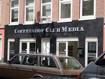 Coffeeshop Club Media Amsterdam
