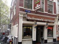Coffeeshop The Freeworld Amsterdam