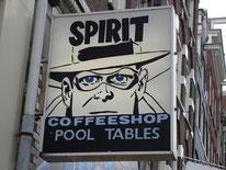 Coffeeshop Spirit Amsterdam