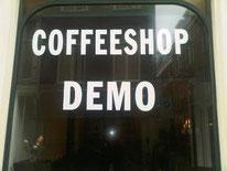 Coffeeshop Cannabiscafe Demo Den Haag