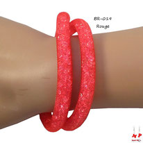 Bracelet double stardust rouge