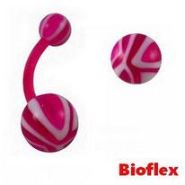 Piercings nombril bioflex