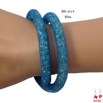 Bracelet double stardust bleu