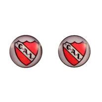 Boucles d'oreilles acier logo CAI Club Athetico Independiante