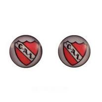 Boucles d'oreilles logos Club Atlético