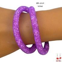Bracelet double stardust violet