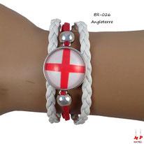 Bracelet drapeau de l'Angleterre