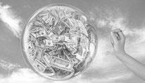 Money asset bubble