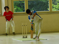 ZCCC U15s indoor cricket practice