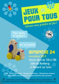 Jeux pour tous Thouaré sur Loire