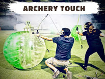 Archery Tag Annecy, location archery game, paintball à l'arc