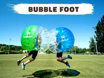 Location bubble foot Annecy, bubble bump à louer Haute-Savoie