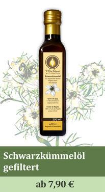 schwarzkümmelöl, black seed oil, black cumin oil, coldpressed oil, kaltgepresste öle, Öle,