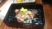 シャポーン鹿児島鶏たたき 850円(税別)