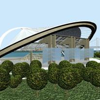 Diseño Urbano, parque, playa