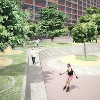 Diseño Urbano, parque