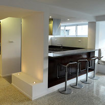 apartamento, diseño interior, arquitectura