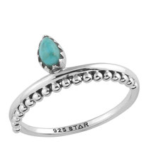 925 sterling zilver indian drop ring opal