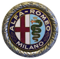 alfa logo badge 1925