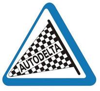 autodelta logo badge emblem