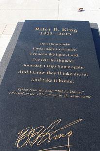 Grab von B. B. King, Indianola, Mississippi
