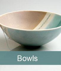 Delicate porcelain bowls