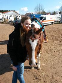 """Pferdebesitzerin """"Leonie Puritscher"""" und Ihr """"Blue"""""""