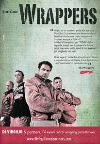 Daniele Butera, in collaborazione con Smark Eventi su Corriere dello Sport Stadio.  Campagna - The Car Wrappers, Di Virgilio&Partners.
