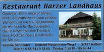 Restaurant Harzer Landhaus