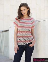 laine Katia collection Silky Lace modèle N°15