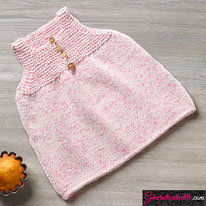 laine Katia collection Baby Tweed modèle N°7