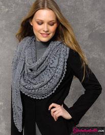 laine Katia collection Silky Lace modèle N°38