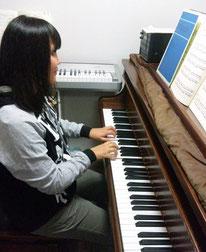 高2の終わりから始めたピアノ(^^)保育士目指して一生懸命練習しています!
