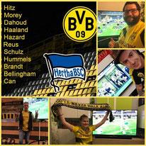 25. Runde BL, BVB - Hertha BSC Berlin, 2:0