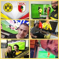 19. Runde BL, BVB - FC Augsburg, 3:1