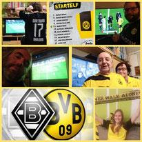 18. Runde BL, Borussia Möchengladbach - BVB, 4:2