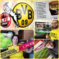 26. Runde BL, 1. FC Köln - BVB, 2:2