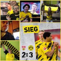 28. Runde BL, Vfb Stuttgart - BVB, 2:3