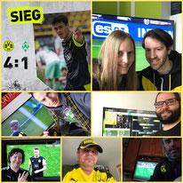 29. Runde BL, BVB - Werder Bremen, 4:1