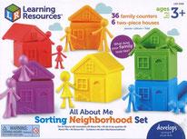Familles et maisons set de tri - LEARNING RESOURCES
