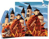 Silhouette Le château au dragon - Djeco