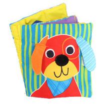Livre tissu chien