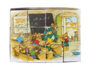 Cubes La vie des oursons - 12 cubes/6 puzzles