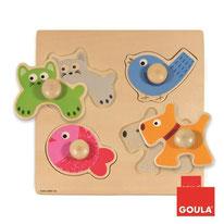 Animaux domestiques - Goula - 4 pièces