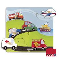 Sonore véhicules - Goula - 7 pièces