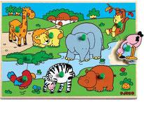 Animaux de la jungle - Djeco - 9 pièces